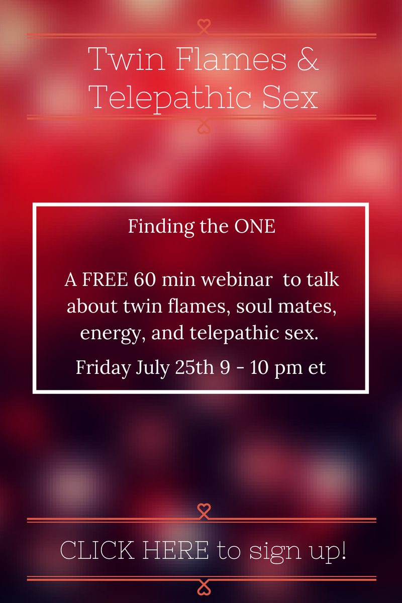Twin Flame and Telepathic Sex Webinar - Allie Theiss