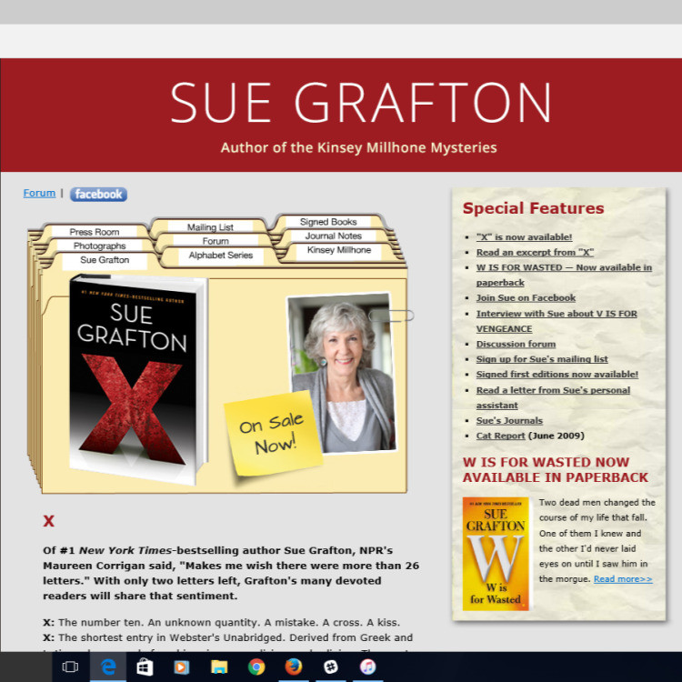 Book Marketing: Author's Front Page
